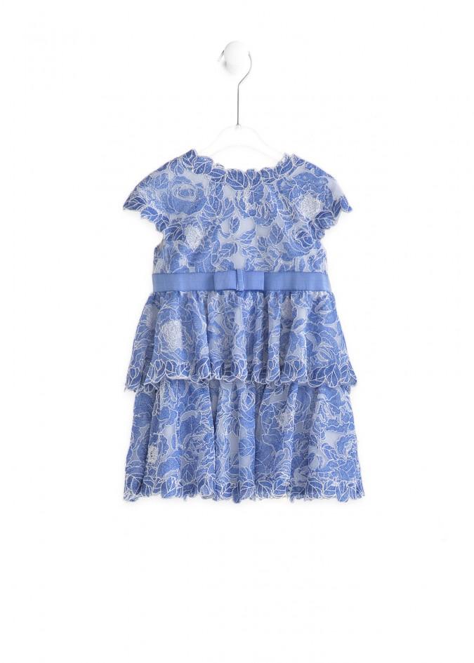 蓝色鼠尾草连衣裙