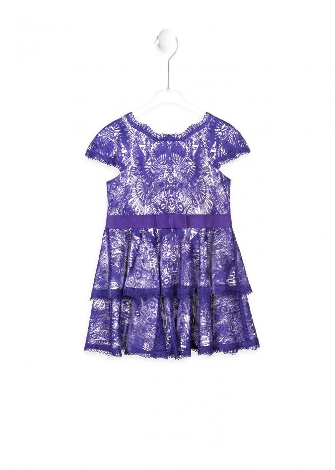 紫罗兰连衣裙