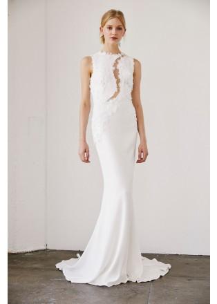 镂空设计修身长裙