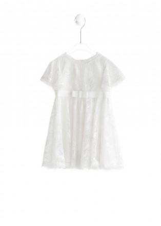 雪白都市连衣裙