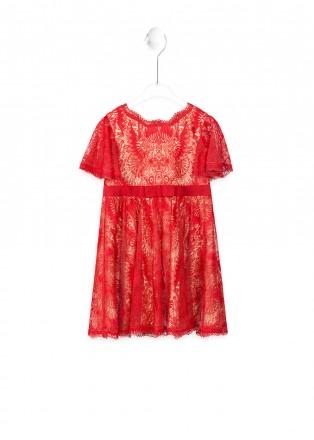 红海棠连衣裙
