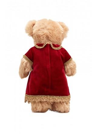 丝绒节日泰迪熊